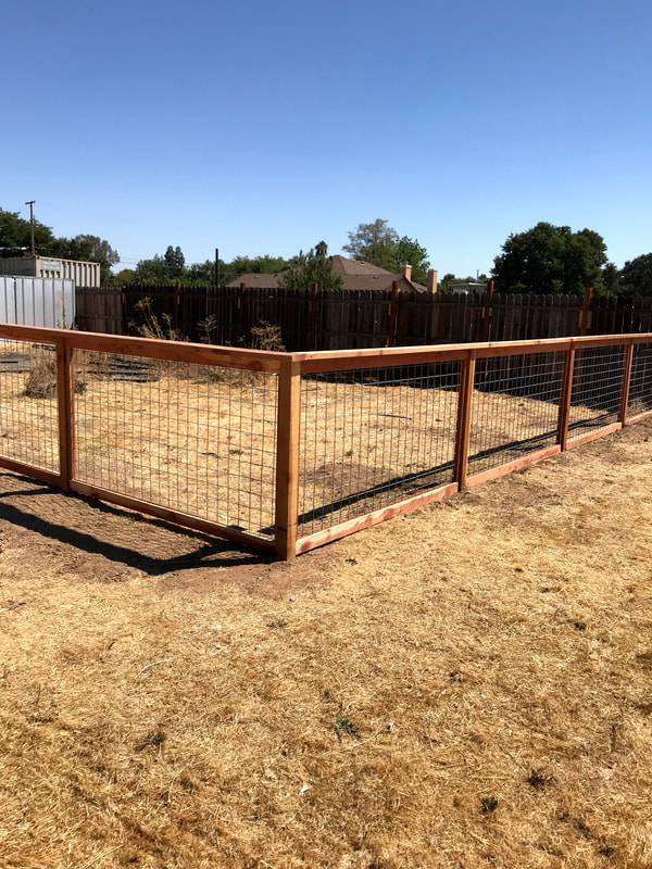Hog Wire Fencing Family Fencing